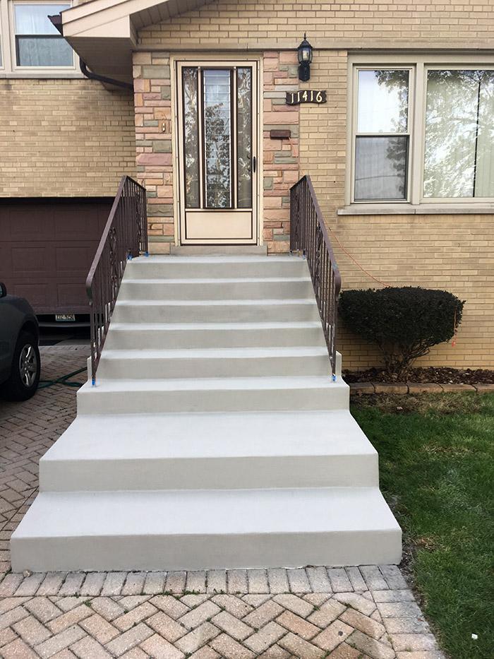 Concrete Steps Repair Chicago Concrete Stairs Chicago